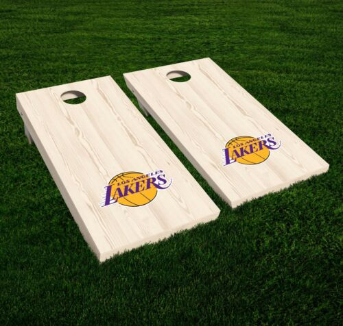 Los Angeles Lakers Cornhole Decal Vinyl NBA Basketball Car Wall Set of 2 GL75