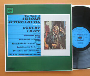 SBRG 72268 The Music Of Arnold Schoenberg Vol 2 Robert Craft NM 2 of 2 ONLY - Heptonstall, West Yorkshire, United Kingdom - SBRG 72268 The Music Of Arnold Schoenberg Vol 2 Robert Craft NM 2 of 2 ONLY - Heptonstall, West Yorkshire, United Kingdom