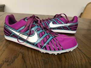 Nike Zoom Rival D Middle Distance Track & Field Shoes Size 9 468651-513 wow