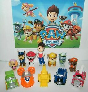 12pc-Set-Paw-Patrol-Cake-Toppers-Action-Figures-Puppy-Patrol-Kids-Toy-New-Gift