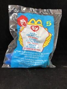 2a1844483c9 TY Teenie Beanie Babies Baby Rocket the Blue Jay Stuffed Animal ...