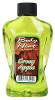 Body Heat Green Apple Edible Warming Massage Lotion Warming Massage Lotions