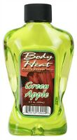 Body Heat Green Apple Edible Warming Massage Lotion Warming Massage Lotions