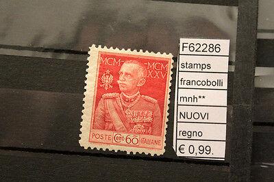 2019 Nieuwste Ontwerp Francobolli Stamps Italia Regno Mnh** Nuovi (f62286) Uitverkoop Totale Korting 50-70%
