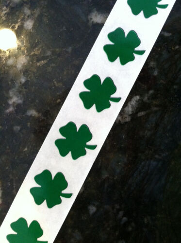 "500 SHAMROCK Clover 1"" inch SCRATCH OFF STICKERS LABELS TICKETS PROMOTIONAL GAME"