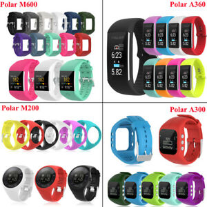 Replacement-Silicone-Watch-Band-Strap-Bracelet-For-Polar-M600-M200-A360-A300