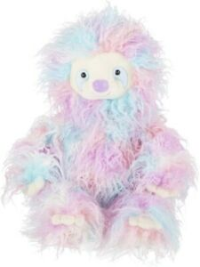 Ganz E1 Baby 18in Plush Stuffed Cotton Candy Floss Sloth Toy H14755