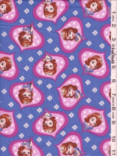 Disney Sofia the First Fabric Collection by Spring Creative bty