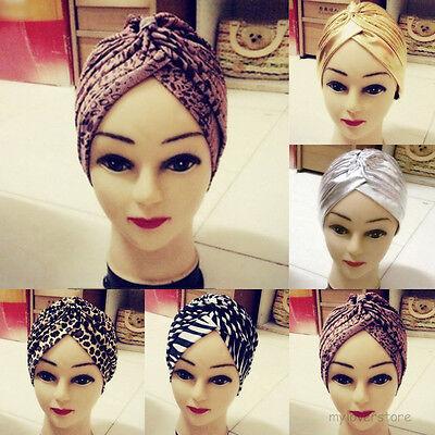 Fashion Turban Haarband Headwrab Yoga Haarschmuck Kopfbedeckung Chemo Mütze
