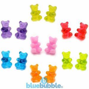 Bluebubble-MY-SWEET-SHOP-Gummy-Bear-Earrings-Cute-Kitsch-Kawaii-Novelty-Retro