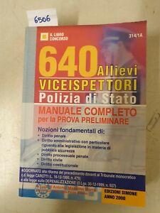 640 allievi viceispettori polizia di stato manuale completo