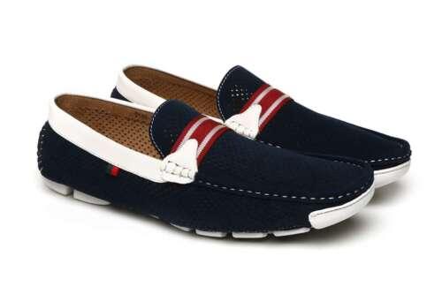 Designer Chaussures Casual Mocassins conduite Deck Slip Mocassin Boat de Taille Mens Uk On qaZfxUnY