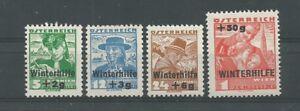 Österreich 1935 Winterhilfe 2. Ausgabe komplett * - St. Pölten, Österreich - Käufer haben das Recht innerhalb von 10 Tagen den gekauften Artikel zurückzusenden. Die Kosten für die Rücksendung trägt der Käufer. - St. Pölten, Österreich