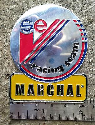 MARCHAL FOG LIGHTS bulbs HISTORY medal FOR SALE CAT LOGO VECTOR VINTAGE S.E.V