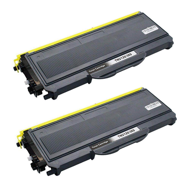 2PK TN360 TN330 Toner Cartridge For Brother DCP-7040 HL ...
