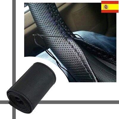 cubierta para volante de coche Canghai cubierta pesada para volante con estampado de rayas de color azul Funda antideslizante para volante de coche