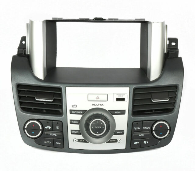 2008-2009 Acura RDX Radio & Climate Control Panel Assembly