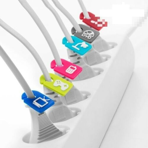 Foldabits Kabelkennzeichner 6er Pack Kabelkennzeichnung