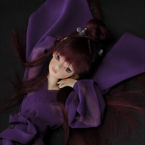 TATA glass eyes TE-10 14mm//16mm for BJD SD MSD 1//3 1//4 size doll use purple+red