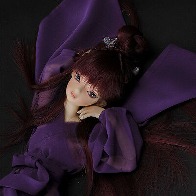 "Dollmore 17/"" 1//4BJD doll clothes outfits  MSD Fractal Mosaic Top Violet"