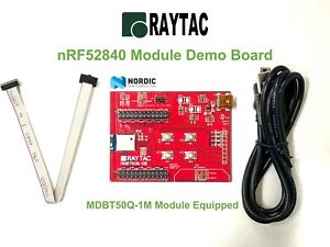 Nordic-nRF52840-Raytac-BT5-1-Module-Demo-Board-BLE-Bluetooth-Development-Kit