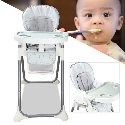 Kinderhochstuhl Babystuhl Baby Hochstuhl  klappbar Babyhochstuhl Grau Kindersafe