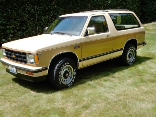 83 94 Chevy S10 Blazer Front Lower Quarter Set 2 Door GMC Truck Jimmy