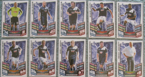 Match Attax TCG Choose One 2012//2013 Championship Card Millwall