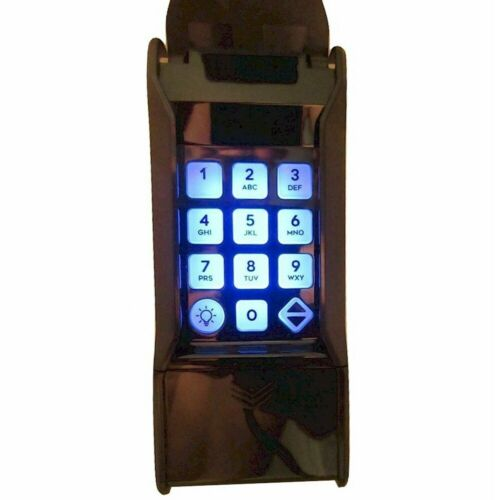 Linear LPWKP Black Replaces MDTK Wireless Gate Garage Door Opener Keypad 318MHz