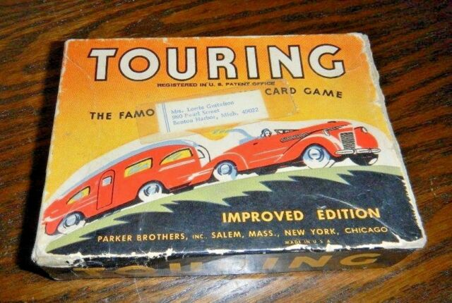 Touring Card Game  ** Collector's Item **