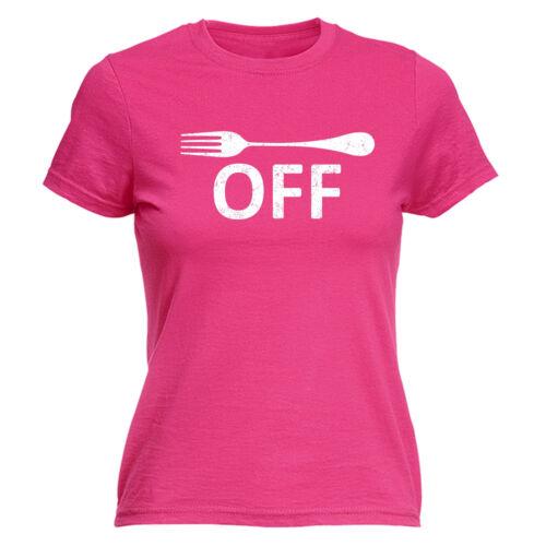 Fourchette de Design T-shirt femme tee-shirt anniversaire Grossier Naughty cuisson cuisine drôle