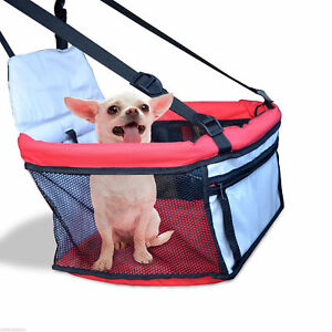 Dog-Puppy-Car-Seat-Cover-Pet-Cat-Bag-Carrier-Booster-Basket-Travel-Bed