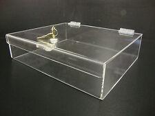 305displays Acrylic Countertop Display 12 X 10 X 3 Locking Security Showcase