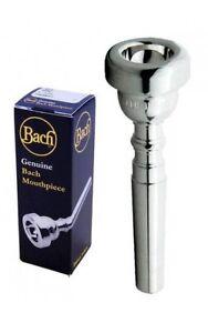 Bach 5 A Plaqué Argent Trompette Mouthpiece 3515 A-afficher Le Titre D'origine