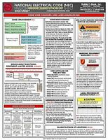 2017 National Electrical Code (nec) Significant Changes Quick-card Pamphlet on sale