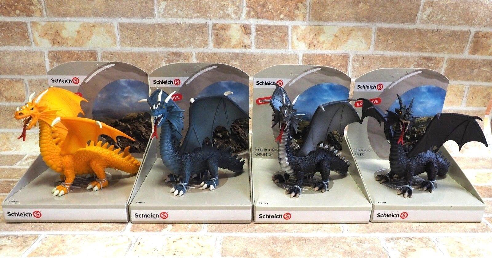 Schleich Exclusive Dragon Figure ELDRADOR 72040 72041 72057 72058 Set New Japan