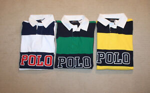 NEW-Polo-Ralph-Lauren-Big-and-Tall-POLO-Logo-Striped-Shirt