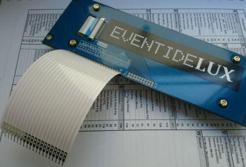 Eventide EVE//NET Custom Tri-Axis LED Display ! Negative