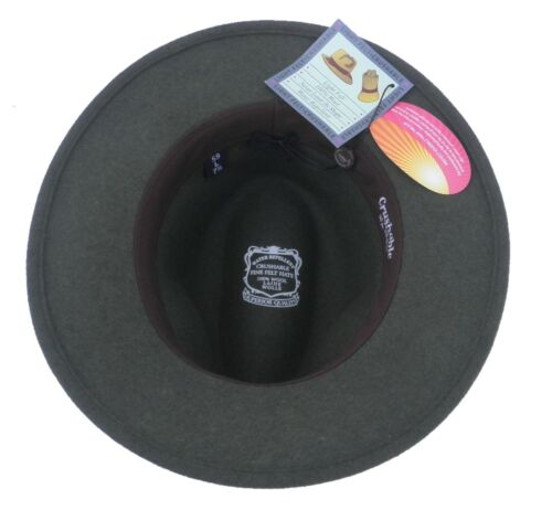 Señores wollhut Traveller con impermeable outdoorhut señores sombreros t3
