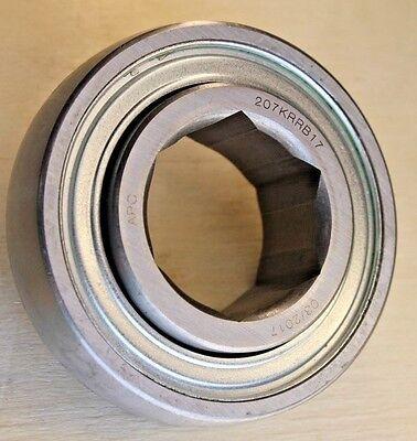 "207KRRB17 1-1//4/"" Hex Bore Ag Bearing HPS102GP3  JD9420"