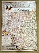métiers d'art en lorraine, 96 pages, 1979