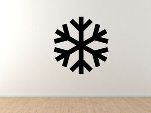 Snowflake-Pattern-1-Winter-Art-Christmas-Decoration-Vinyl-Wall-Decal-Decor