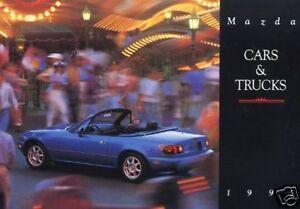 1995 MAZDA RX-7 MX-3 MIATA MX-6 SALES BROCHURE + BOOK   eBay