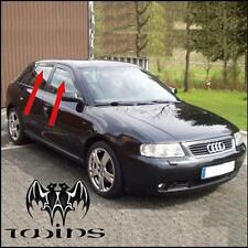 Set 4 Déflecteurs de vent pluie air teintées pour Audi A3 8L 5 portes 1996-20013