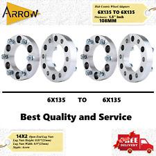 4pcs 15 Wheel Spacers Adapters 6x13514x20 Studs Fits Ford F 150 Navigator Fits Ford