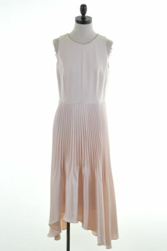 Coast Dress Viscose 14 Fi12 Asymmetrical Beige Womens Large Uk rwH0rgnUq