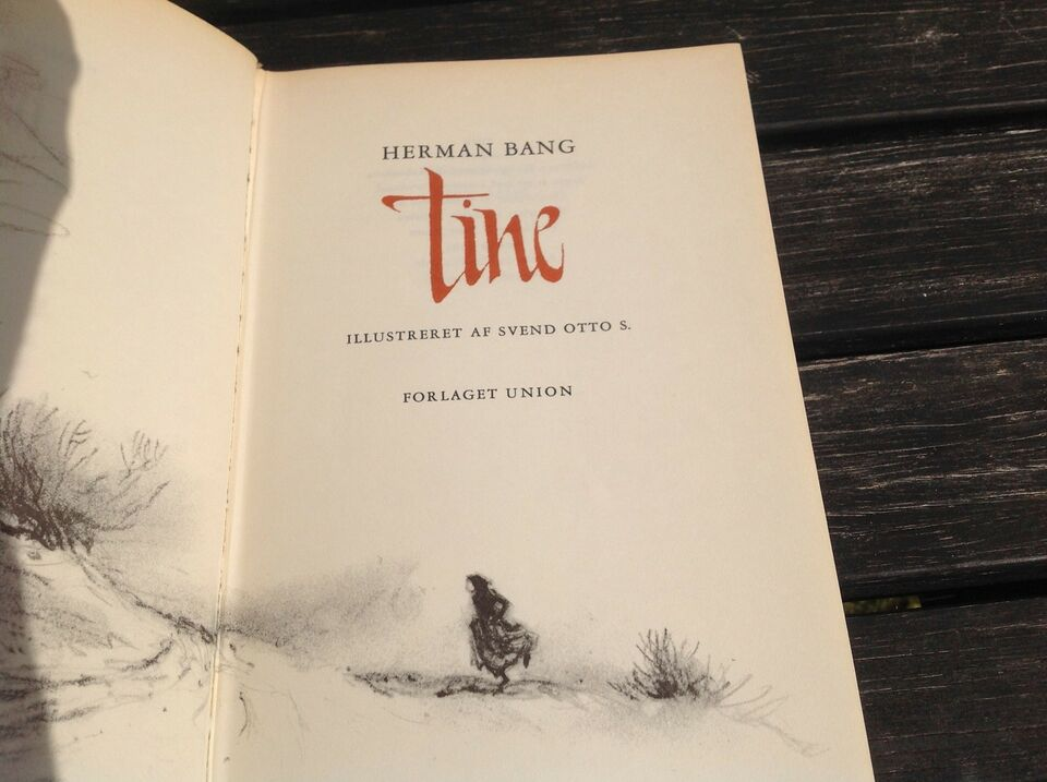 Tine, Herman bang, genre: roman