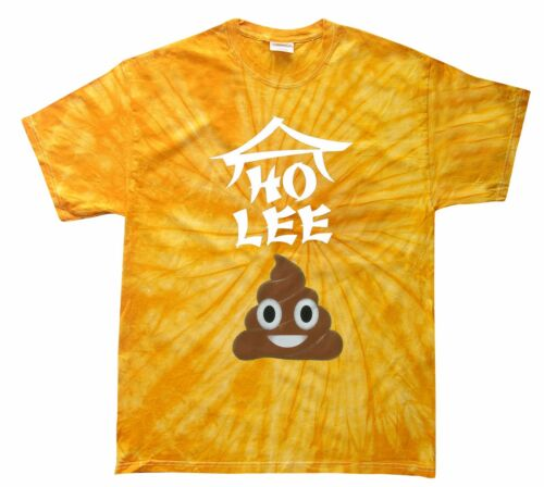 HO LEE S@#T EMOJI TIE DYE T-SHIRT Assorted Colors S-5XL /& KIDS XS2-4-L14-16