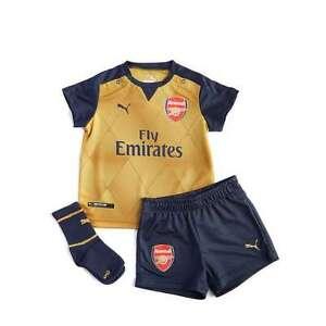 Image is loading Puma-Arsenal-FC-2015-Away-Kit-Infant-6- be61f9ec0