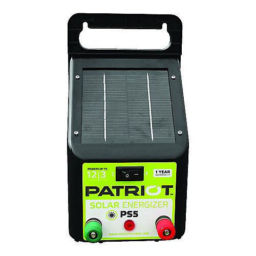 Patriot PE5 Electric Fence Energizer 0.20 Joule